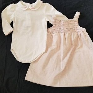 JANIE and JACK Smocked Dress Set